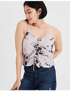 Ae Cinch Front Camisole by American Eagle Outfitters