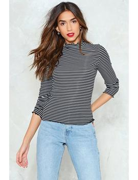It'll Be All Stripe Top by Nasty Gal