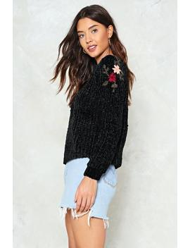 Chenille To The Bone Sweater by Nasty Gal
