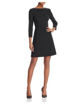 Kamillina Stretch Wool Dress by Theory