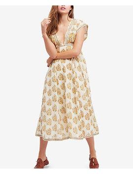 Riakaa Cotton Printed Midi Dress by Free People