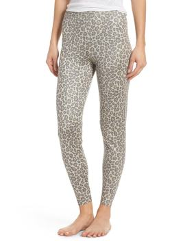Leopard Knit Lounge Pant by Ragdoll