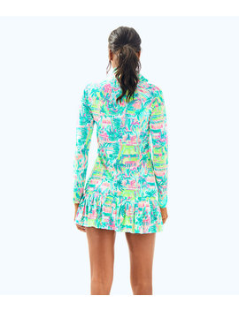 Upf 50+ Meryl Nylon Luxletic Hadlee Tennis Jacket by Lilly Pulitzer