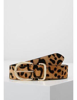 Leopard Print Belt   Riem by Topshop