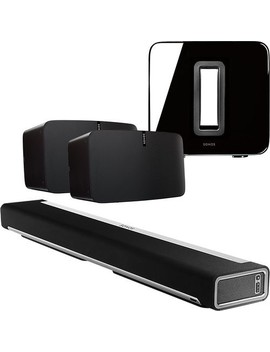 Two Play:5 Speakers, Playbar & Sub Package by Sonos
