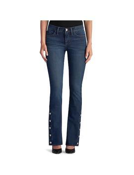Women's Rock &Amp; Republic® Kasandra Button Hem Bootcut Jeans by Rock &Amp; Republic