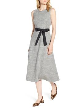 Velvet Tie A Line Dress by J.Crew