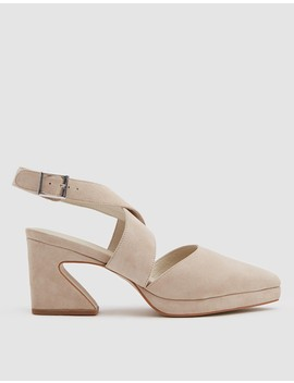 Agona Heel In Latte by Intentionally Blank