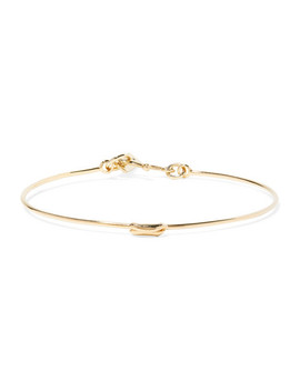 Gold Tone Bangle by Isabel Marant