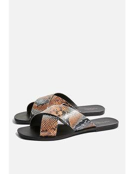 Snake Design Sandals by Topshop