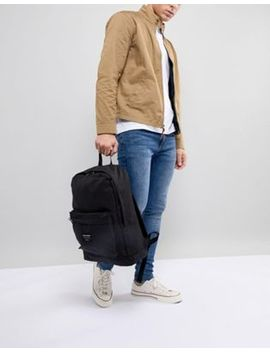 Jack & Jones Black Backpack by Jack & Jones