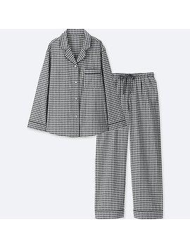 Women Cotton Long Sleeve Pyjamas by Uniqlo