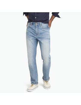 J.Crew Mercantile Stretch Bleecker Athletic Fit Jean In So Cal Wash by J.Crew