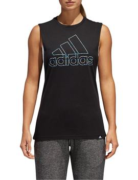 Muscle Logo Tank by Adidas