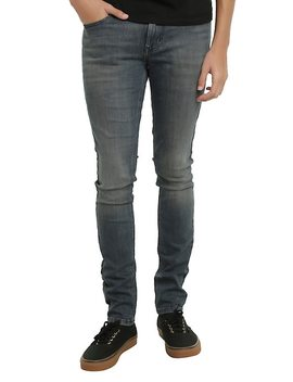 Xxx Rude Indigo Super Skinny Jeans by Hot Topic