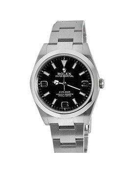 Rolex Explorer 1 Black Dial Steel Mens Watch 214270 by Rolex