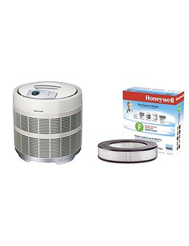 "Honeywell 50250 S True Hepa Air Purifier, 390 Sq. Ft. With Universal 14"" Air Purifier Replacement Hepa Filter, Hrf F1/Filter (F) by Honeywell"