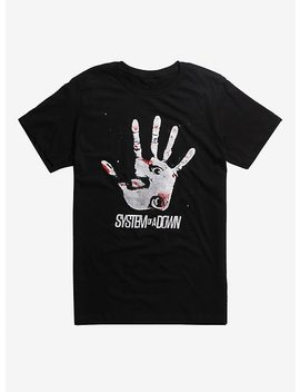 System Of A Down Hand T Shirt by Hot Topic