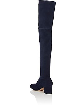 Suede Over The Knee Boots by Gianvito Rossi