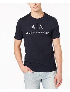 |X Armani Exchange Men's Logo Print T Shirt by A|X Armani Exchange