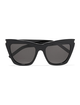 Kate Cat Eye Acetate Sunglasses by Saint Laurent