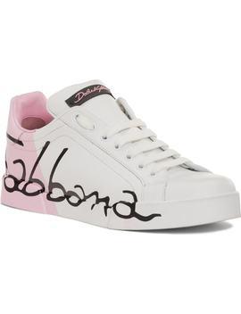 Script Logo Sneaker by Dolce&Gabbana