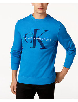 Men's Logo Sweatshirt by Calvin Klein Jeans