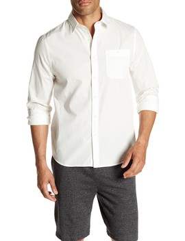 Long Sleeve Organic Poplin Regular Fit Shirt by Threads 4 Thought