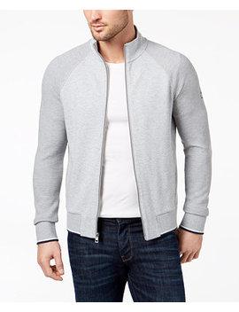 Men's Textured Block Track Jacket by Michael Kors