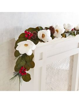 Magnolia Berry 6' Winter Garland by Pier1 Imports
