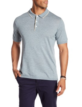 Short Sleeve Collared Polo by Loft 604
