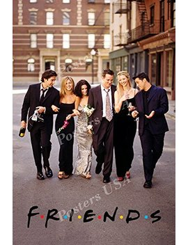 """Posters Usa   Friends Tv Series Show Poster Glossy Finish   Tvs096 (24"""" X 36"""" (61cm X 91.5cm)) by Posters Usa"""