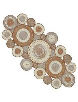 "Beaded Radiant Circles 31"" Table Runner by Pier1 Imports"