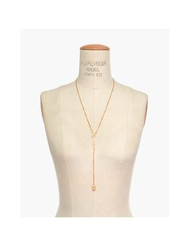 Daisy Lariat Necklace by Madewell