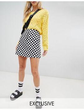 Reclaimed Vintage Inspired Check Mini Skirt by Reclaimed Vintage