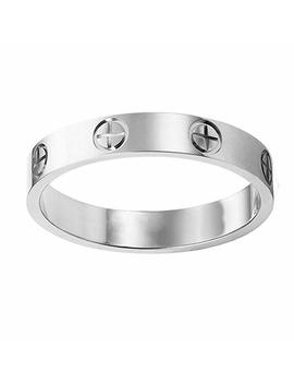 Fire Ants Love Ring Lozeux Shine Celebrity Plated Band Ring For Women by Fire Ants