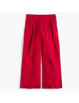 Tall Wide Leg Crop Pant In 365 Crepe by J.Crew