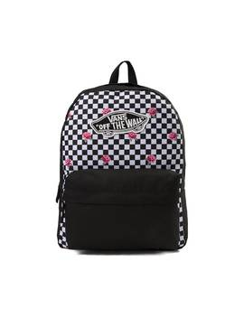 Vans Rose Checkered Realm Backpack by Vans
