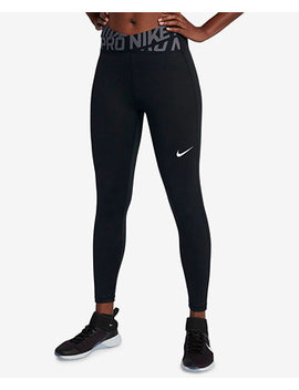 Pro Crossover Waistband Ankle Leggings by Nike