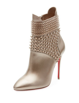 Hongroise Spiked Red Sole Bootie by Christian Louboutin