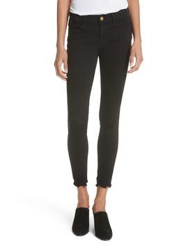 Le Skinny De Jeanne Raw Hem Skinny Jeans by Frame