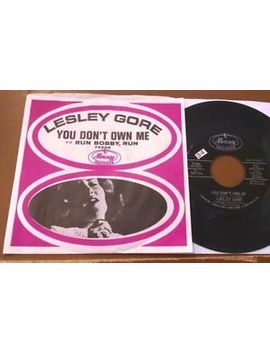 Lesley Gore   You Don't Own Me/Run Bobby, Run 45 W/Sleeve Vg+ by Ebay Seller