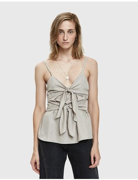 Dátil Tie Front Camisole by Farrow