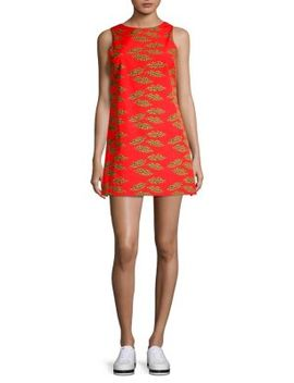 Alice + Olivia X Donald Clyde Shift Dress by Alice + Olivia