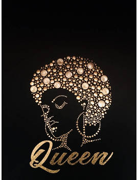 Queen Afro T Shirt by Etsy