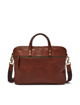 Haskell Single Zip Briefcase by Fossil