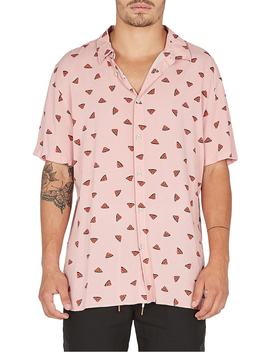Holiday Woven Shirt by Barney Cools