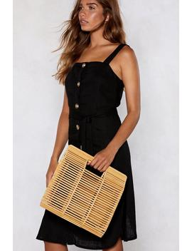 Want Touch Wood Clutch Bag by Nasty Gal