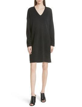 Wool & Cashmere Cocoon Dress by Vince