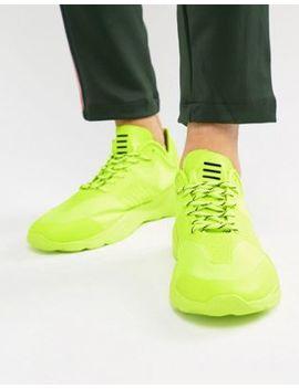 Bershka Sneakers In Neon Yellow by Bershka